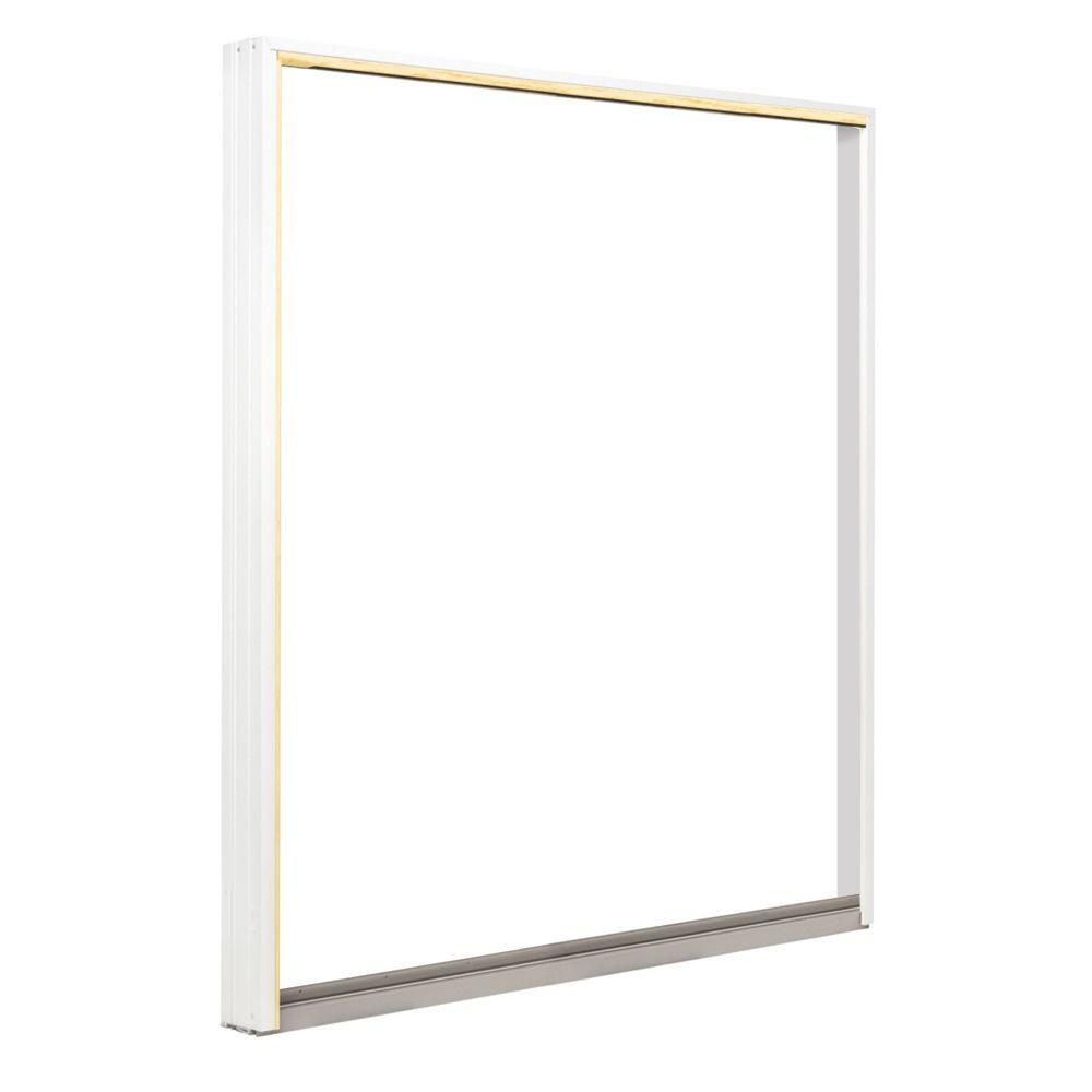 Andersen 72 in. x 80 in. 400 Series Frenchwood Sliding Patio Door White Right-Hand Frame Kit