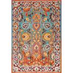 Mallory Floral Multi 7 ft. x 9 ft.  Area Rug
