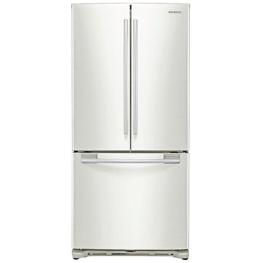 Samsung 19.72 cu. ft. French Door Refrigerator in White