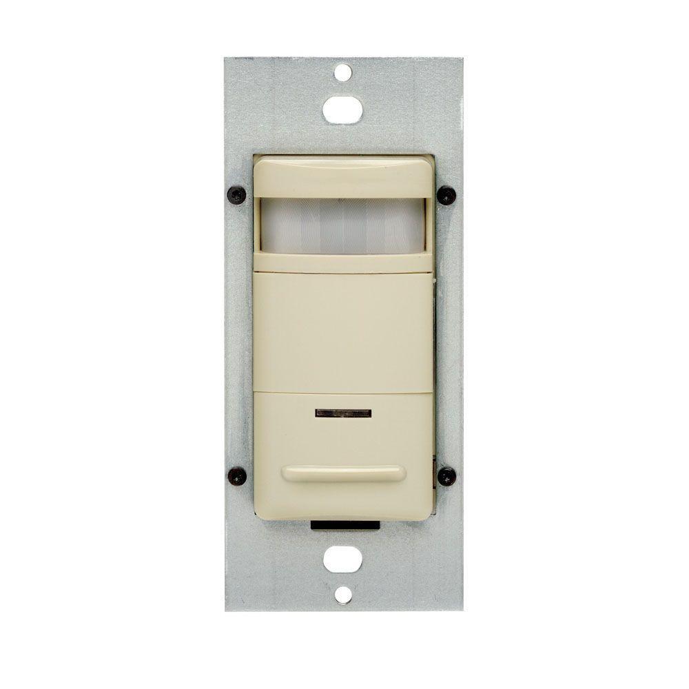Decora Self-Adjusting Passive Infrared Occupancy Sensor, Ivory