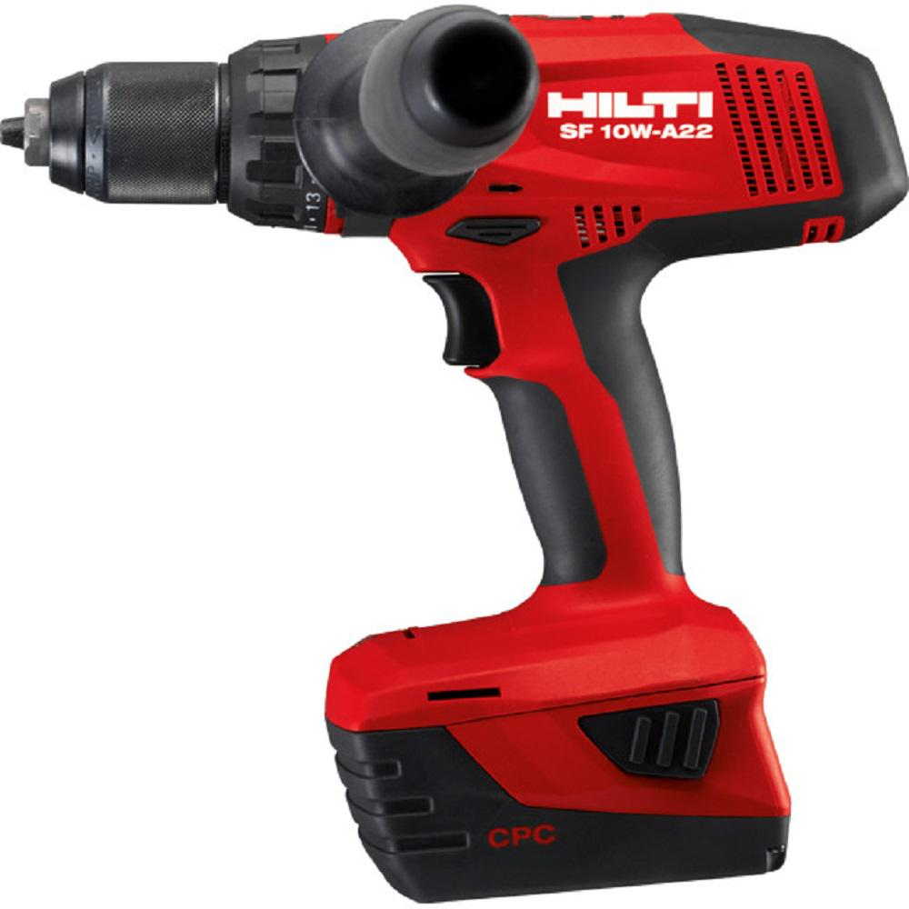 SF 10-Watt 22-Volt Cordless Drill Driver with Active Torque Control 4-Speed