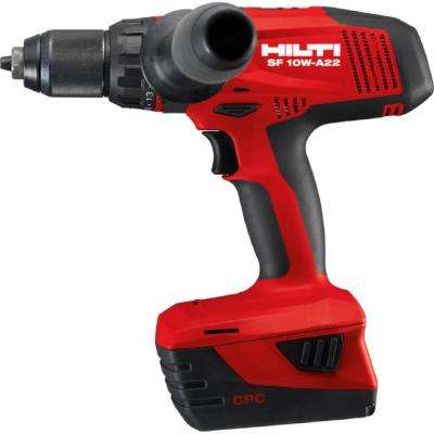 SF 10-Watt 22-Volt Cordless Drill Driver with Active Torque Control 4-Speed Gearing for High Torque (No Bag or Case)