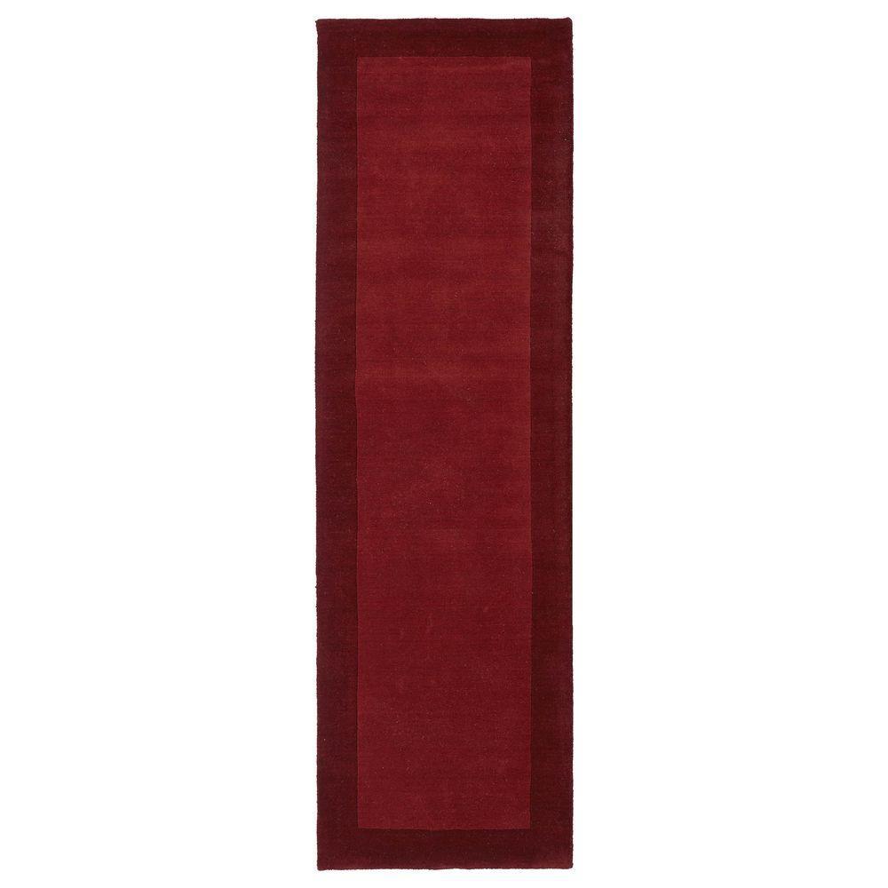 Kaleen Regency Red 2 ft. 6 in. x 8 ft. 9 in. Runner