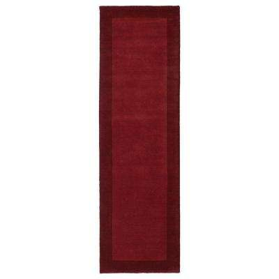 Regency Red 3 ft. x 9 ft. Runner Rug