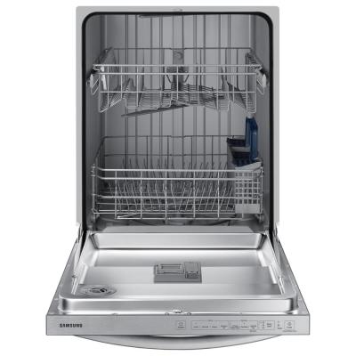 24 in. Stainless Steel Top Control Built-In Tall Tub Dishwasher with Stainless Steel Interior Door and 55 dBA