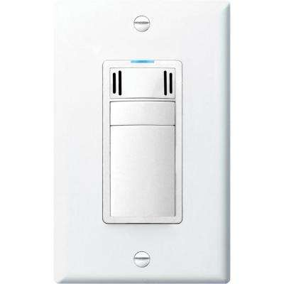 Whisper Control-Humidity and Condensation Sensor, Countdown Timer, On/Off, Moisture Sensitivity Dial-Wall Plate Included