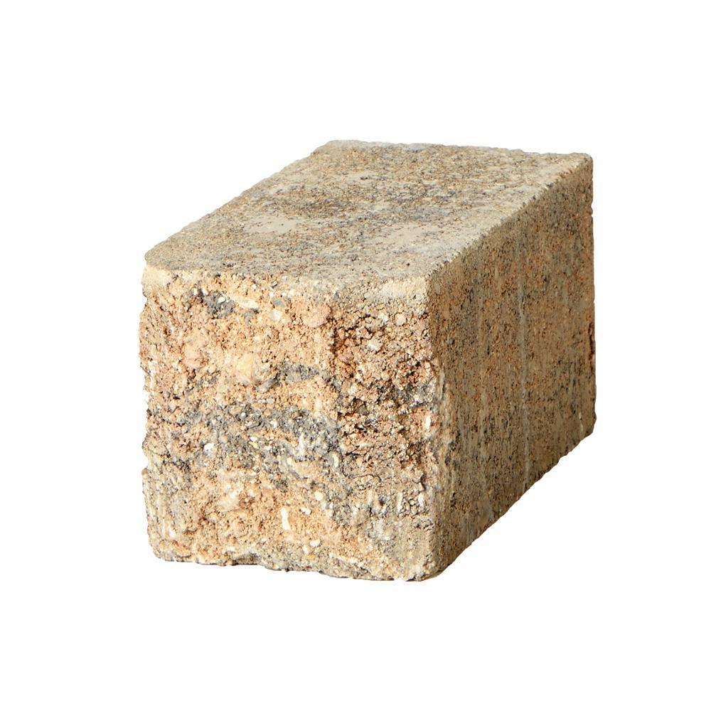 Pavestone SplitRock Small 3.5 in. x 3.5 in. x 7 in. Yukon Concrete Garden Wall Block (288 Pcs. / 24.5 Face ft. / Pallet)