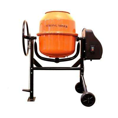 Plywell 3.5 cu. ft. 2/3 HP 120-Volt Motor Direct Drive Cement Mixer