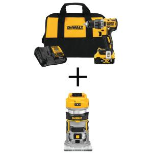 Deals on DeWalt 20-V Max XR 1/2-In Drill/Driver Kit w/20-Volt Router