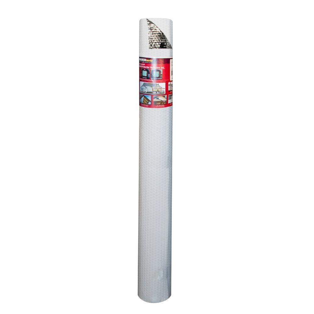 4 ft. x 50 ft. Single Reflective Insulation Air Roll