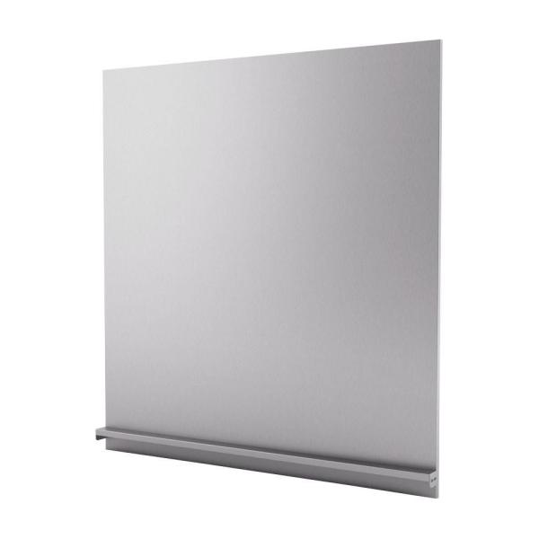 Genesis 30 in. x 31 in. Stainless Steel Backsplash