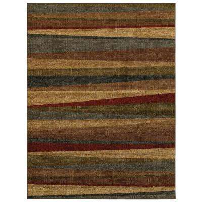 Mayan Sunset Sierra 8 ft. x 10 ft. Indoor Area Rug