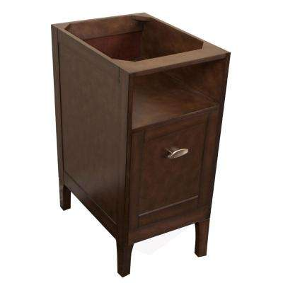 Entiat 16 in. W x 20 in. D Vanity Cabinet in Sable Walnut