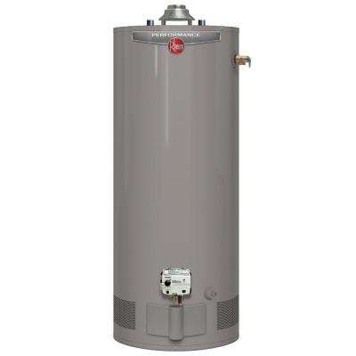 Performance 50 Gal. Short 6 Year 40,000 BTU Natural Gas Tank Water Heater
