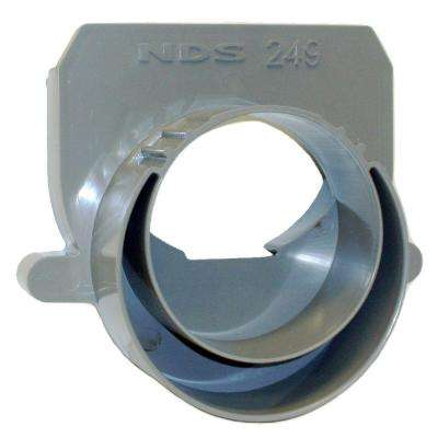 NDS 3 in. and 4 in. PVC Spee-D Channel End Outlet