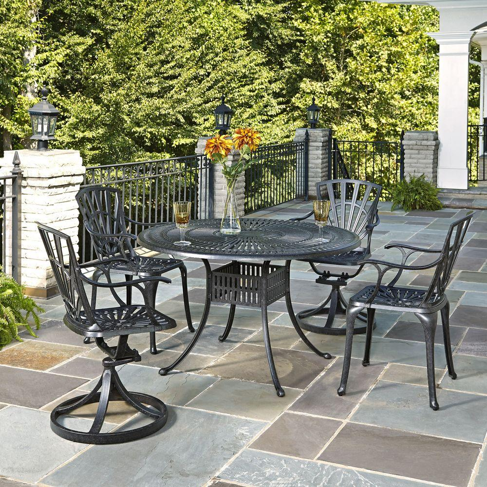 Largo 48 in. 5-Piece Outdoor Patio Dining Set
