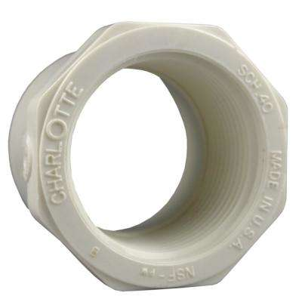 1-1/2 in. x 1/2 in. PVC Sch. 40 Reducer Bushing