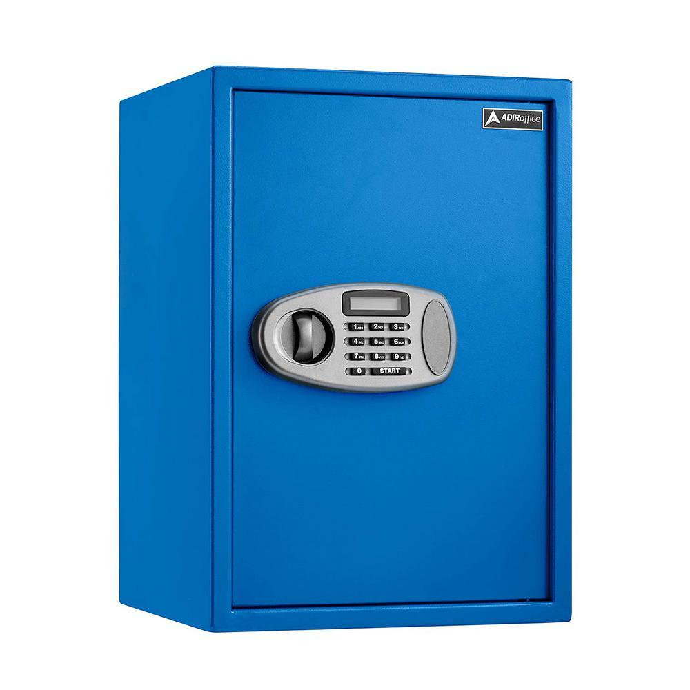 2.32 cu. ft. Steel Security Safe with Digital Lock, Blue