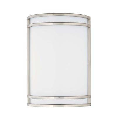 Linear 7 in. Wide Satin Nickel Sconce