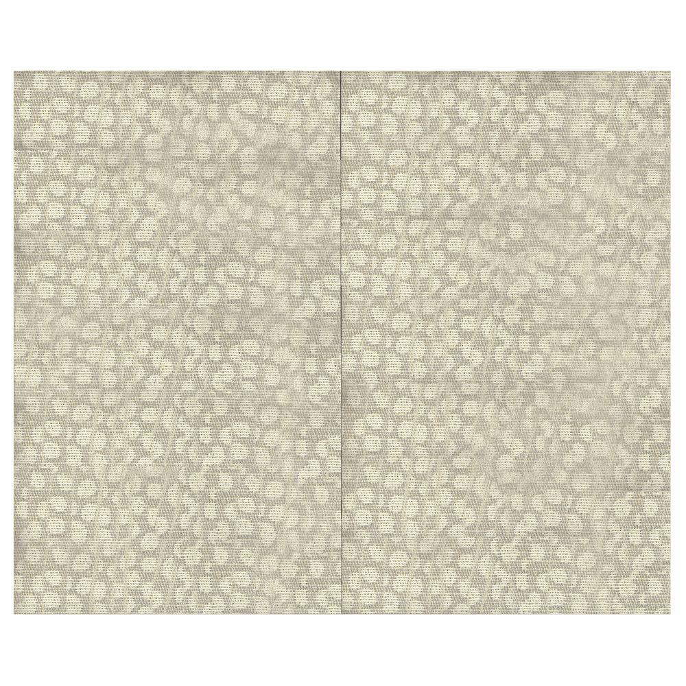 SoftWall Finishing Systems 44 sq. ft. Pebble Fabric Covered Top Kit Wall Panel