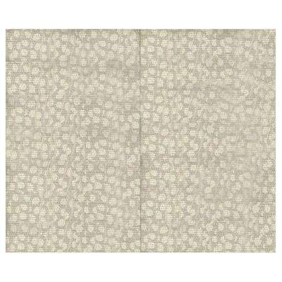 44 sq. ft. Pebble Fabric Covered Top Kit Wall Panel