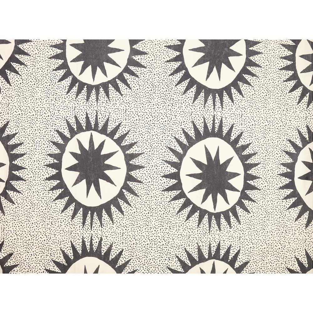 Soleil 72 in. x 72 in. Cream Cotton Shower Curtain by Justina Blakeney