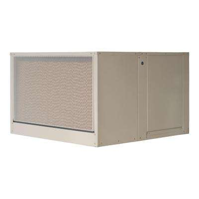 5000 CFM 240-Volt 2-Speed Down-Draft Roof 12 in. Media Evaporative Cooler for 1650 sq. ft. (with Motor)
