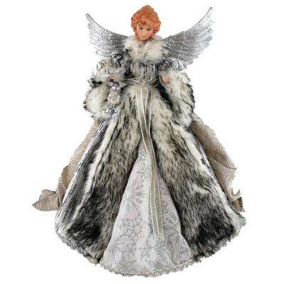16 in. Siberian Snow Angel Tree Topper