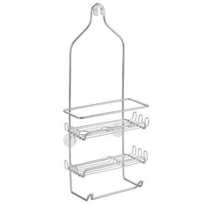 Milo Shower Caddy in Silver