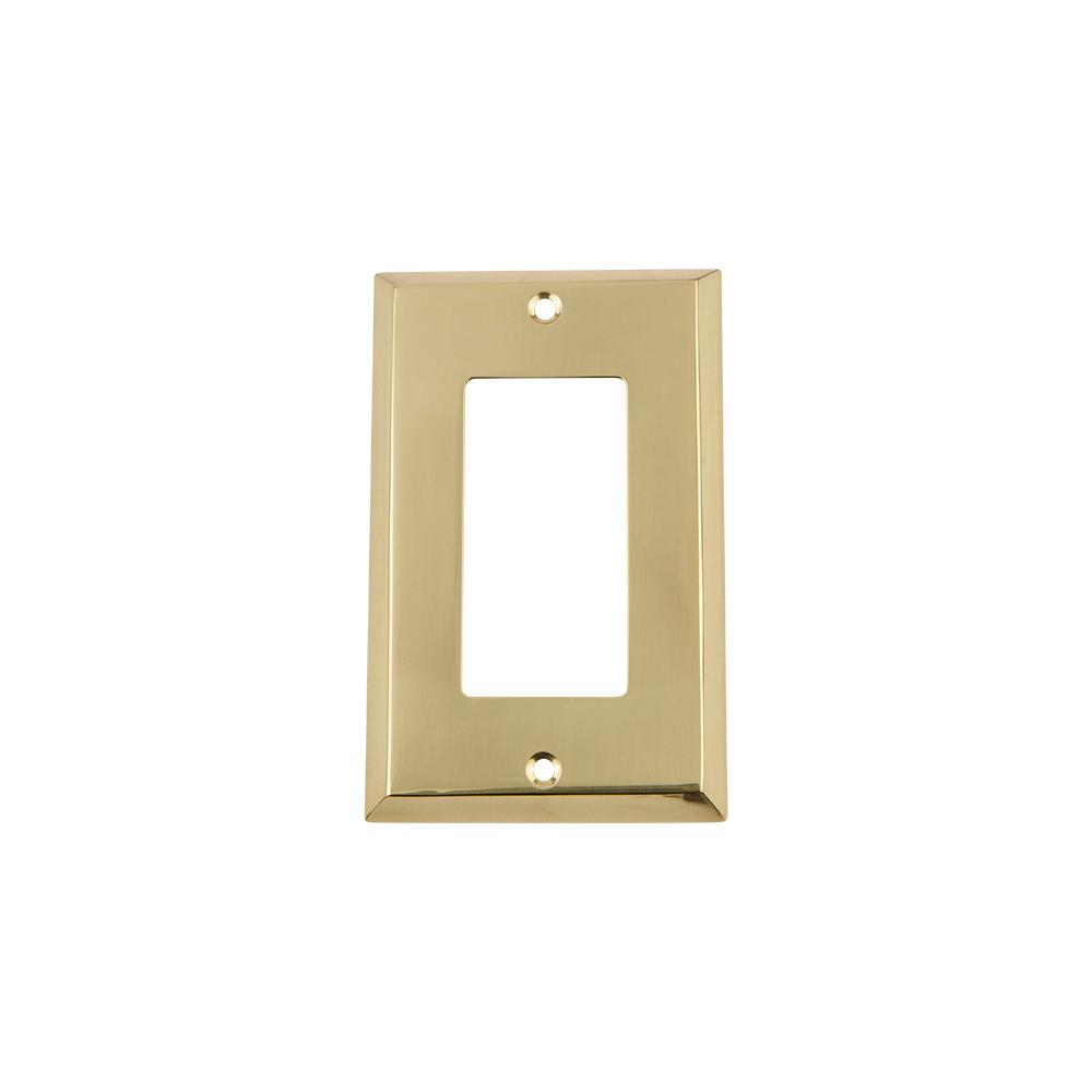 Nostalgic Warehouse Meadows Switch Plate with Blank Cover in Un ...