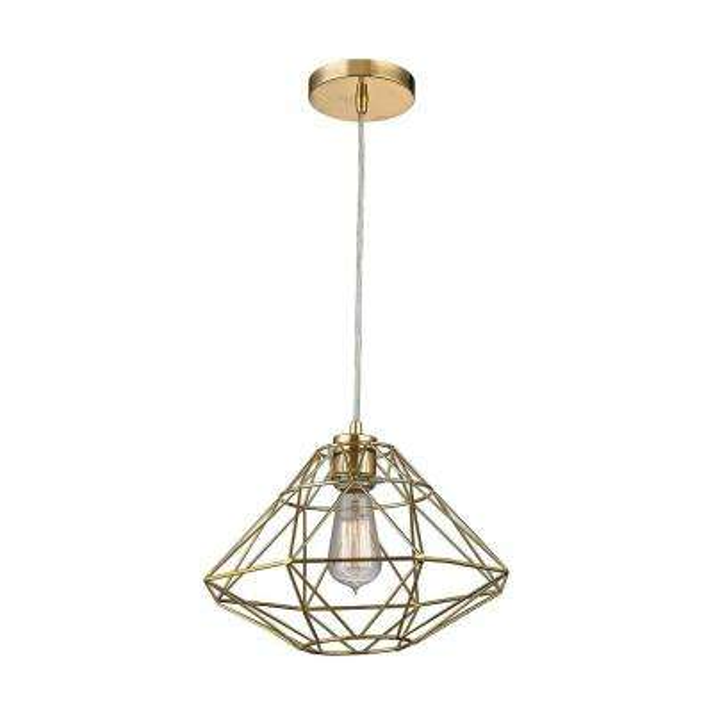 038d846c8c0 Paradigm 1-Light Gold Pendant · Titan Lighting ...