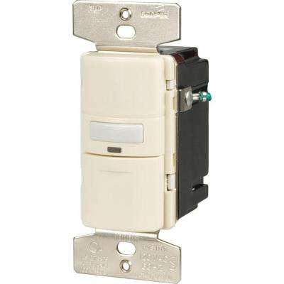 3-Way Occupancy Sensor Switch, Light Almond
