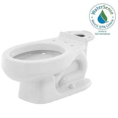 Baby Devoro 1.28 GPF Round Front Toilet Bowl Only in White