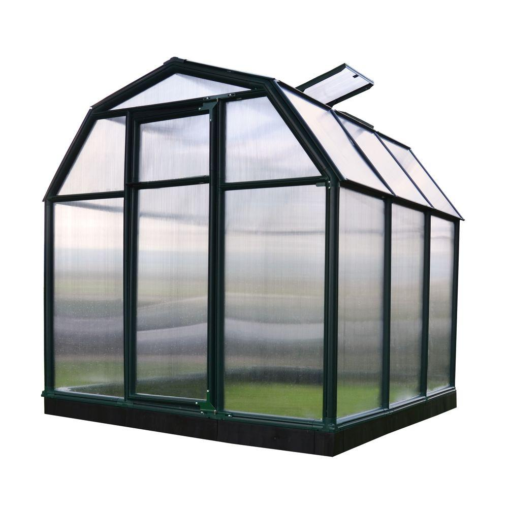 Rion Eco-Grow Twin Wall 6 ft. x 6 ft. Greenhouse
