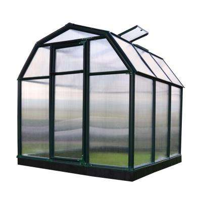 Eco-Grow Twin Wall 6 ft. x 6 ft. Greenhouse