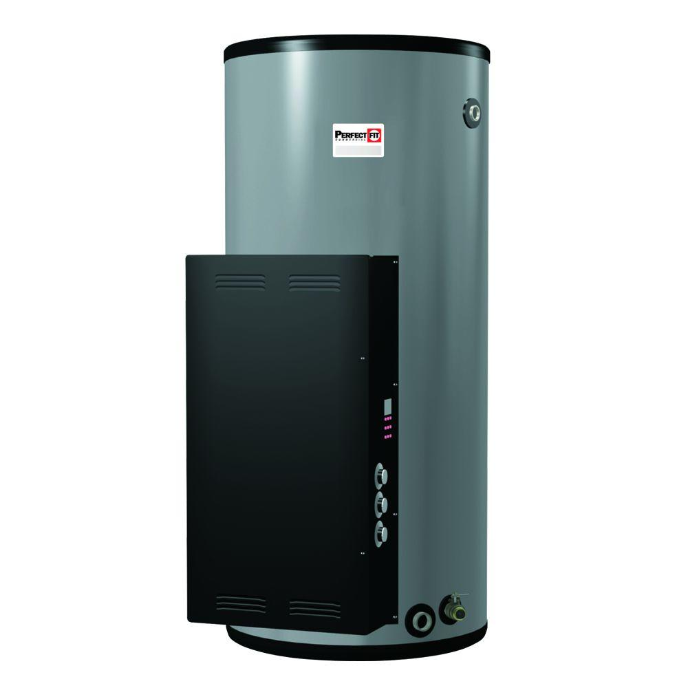 Perfect Fit 85 Gal. 3 Year Electric Commercial Water Heater with 240-Volt 9 kW 3 Phase Surface Mounted Thermostat