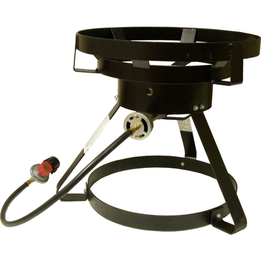 60,000 BTU Portable Propane Gas Cast Burner Outdoor Cooker