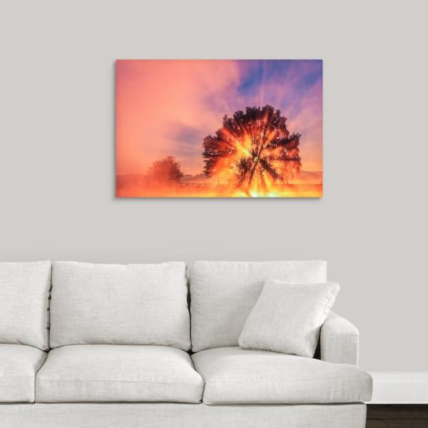 GreatBigCanvas 36 in. x 24 in. ''Lightburst'' by Tony Sweet Canvas