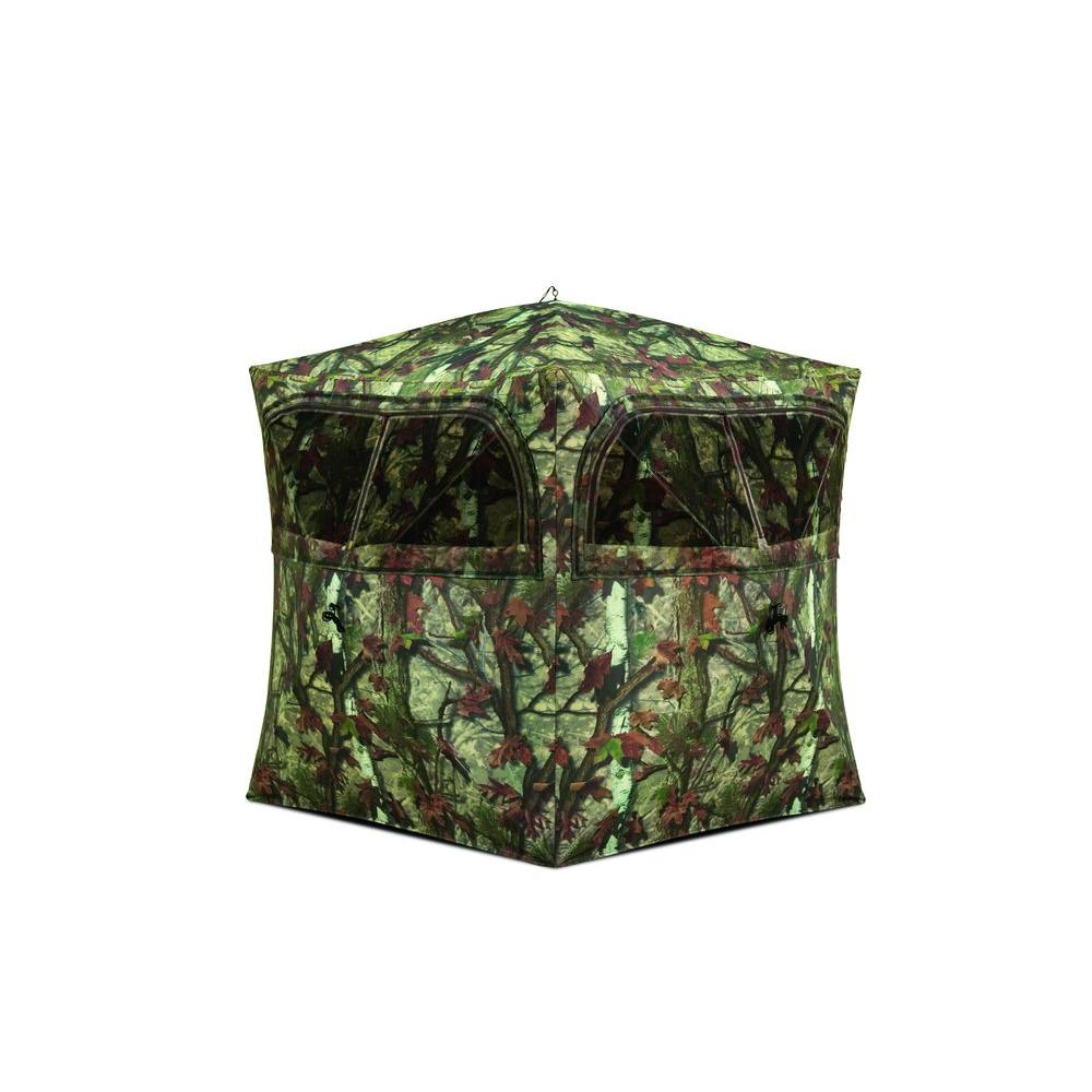 Grounder 250 2-Person Hub Blind, Woodland Camo