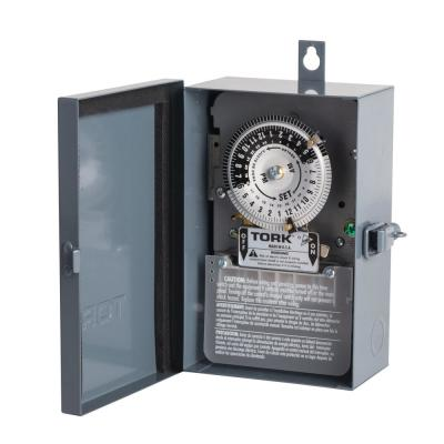 40 Amp 24-Hour Indoor/Outdoor Mechanical Timer Switch