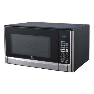 1.6 cu. ft. Stainless Steel Countertop Microwave Oven