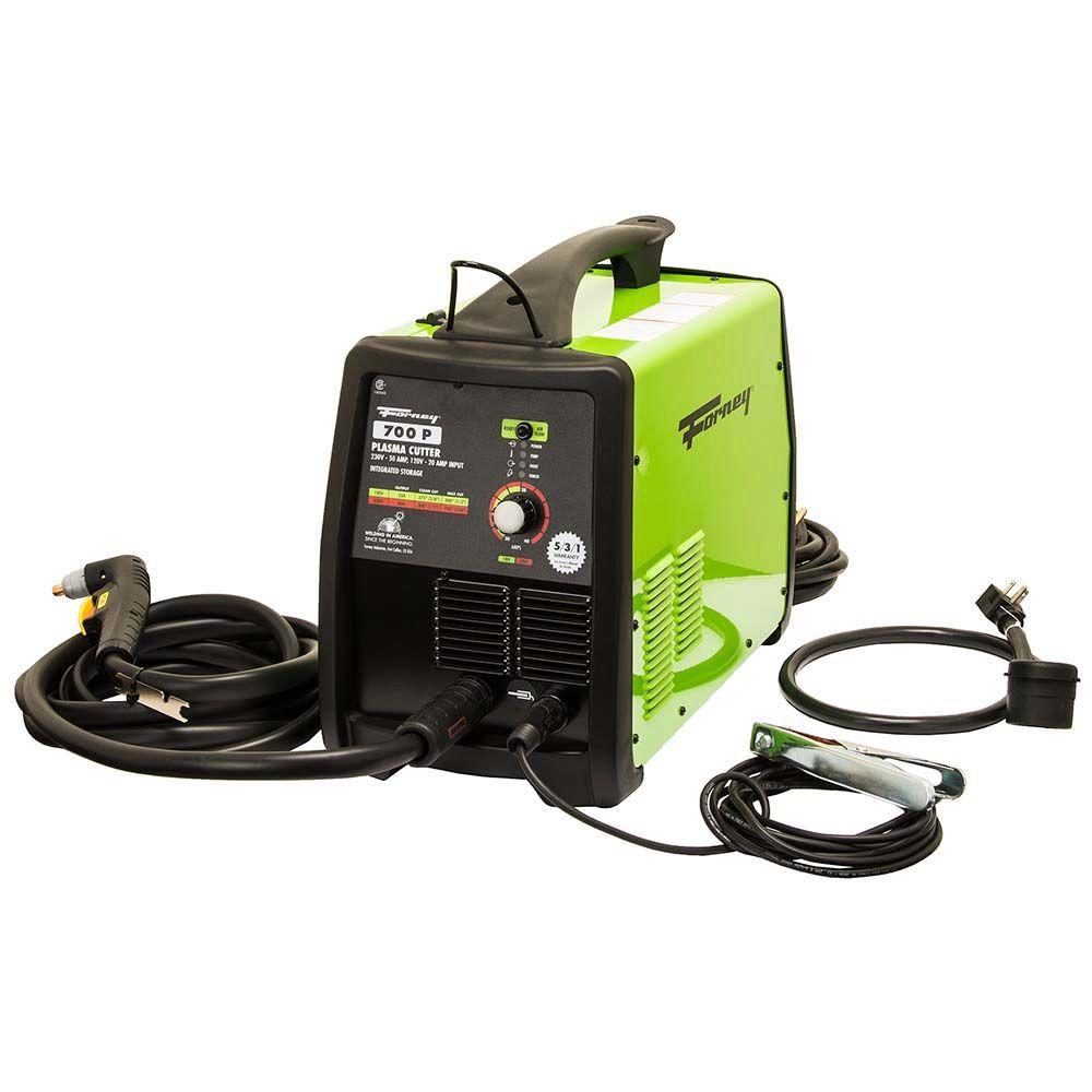 230-Volt and 120-Volt Plasma Cutter