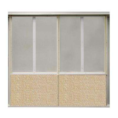 20 sq. ft. Stayin Alive Fabric Covered Bottom Kit Wall Panel