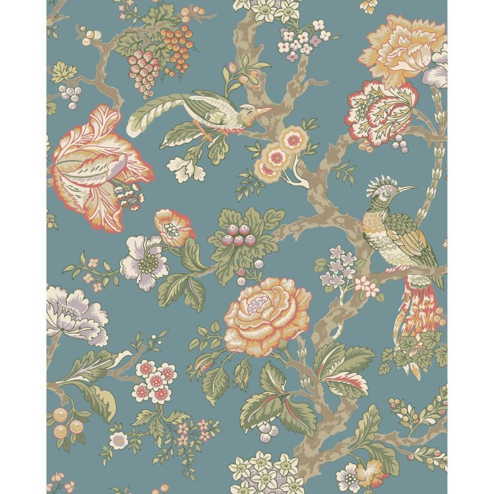 Waverly Classics Casa Blanca Rose Wallpaper