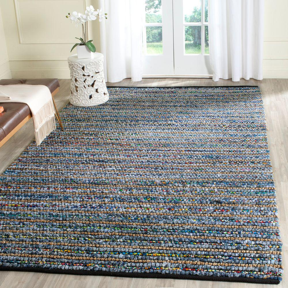 Cape Cod Multi/Natural 5 ft. x 8 ft. Area Rug