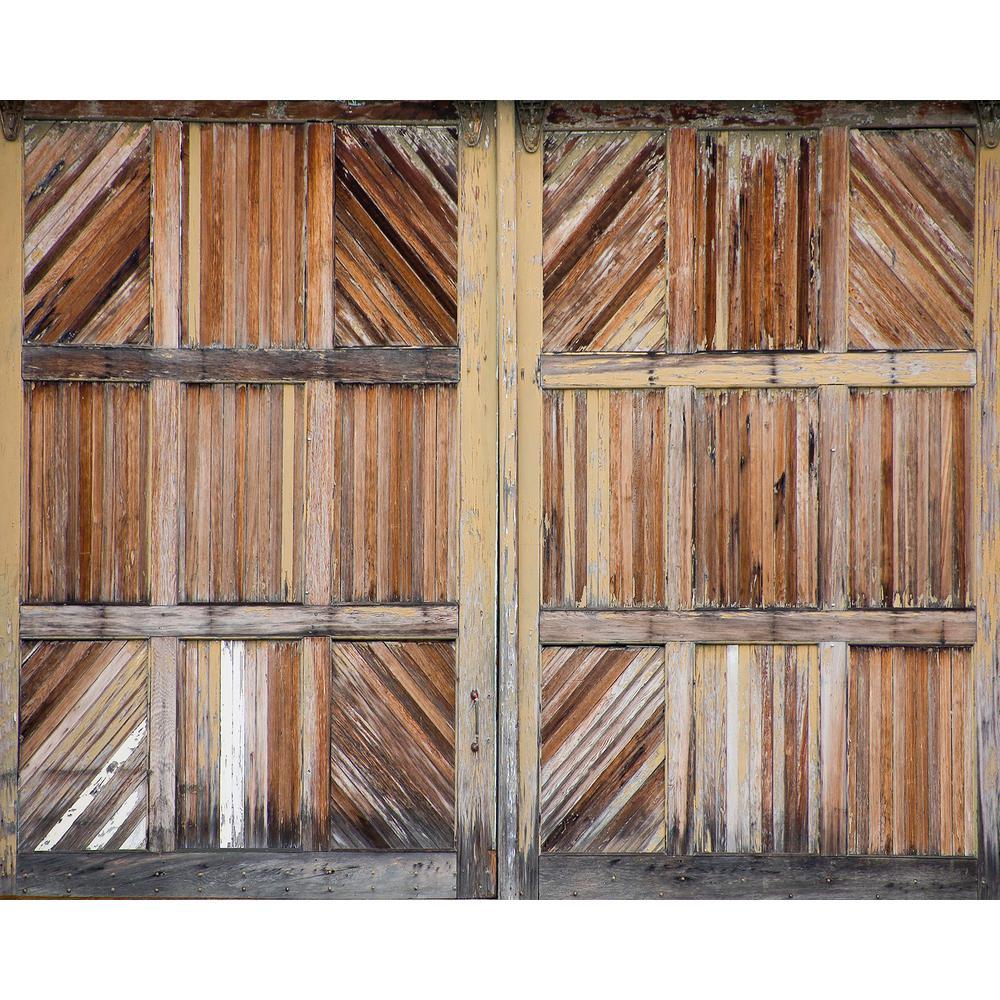 Wooden Doors Wall Mural WR50519 The Home Depot