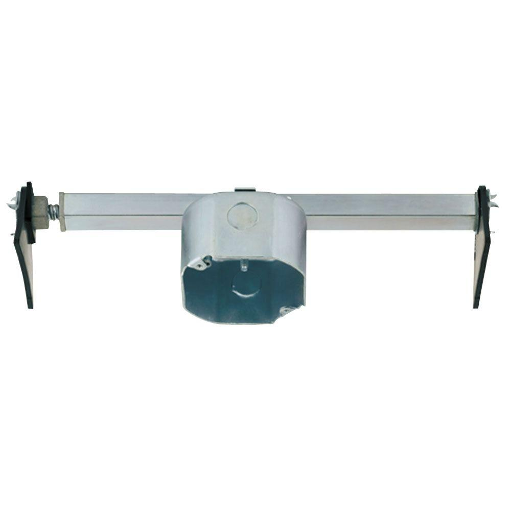 Fan fixture box boxes brackets electrical boxes conduit 215 cu in saf t brace mozeypictures Gallery