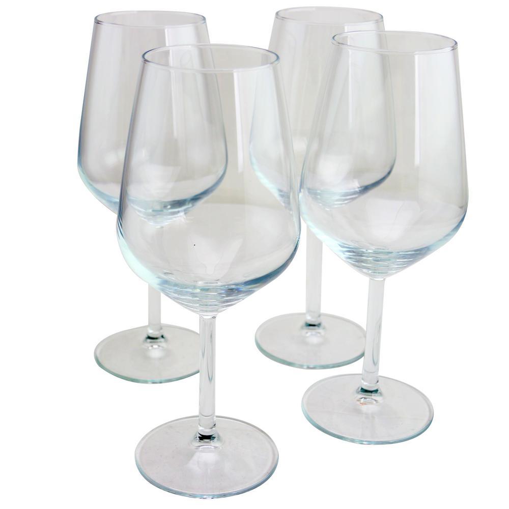 Allegra 16.5 oz. Red Wine Glass Set (4-Pack)