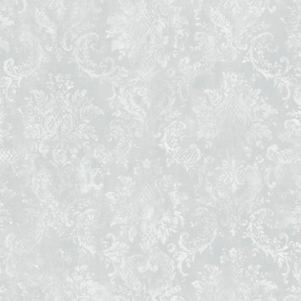 Norwall Canvas Damask Wallpaper SD36101