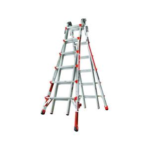Little Giant Ladder Systems Revolution 26 ft. Aluminum Multi-Use Ladder with Ratcheting Levelers 300 lbs. Load... by Little Giant Ladder Systems
